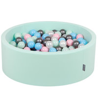 Mint:Pearl/Light Pink/Babyblue/Mint/Silver