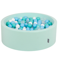 Mint:Light Turquoise/White/Transparent/Baby Blue