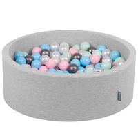 Light Grey:Pearl/Light Pink/Baby Blue/Mint/Silver || Grey