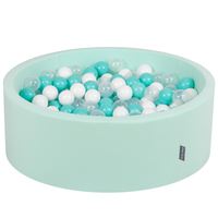 Mint:Light Turquoise/White/Transparent