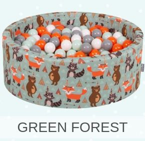 round green forest cover